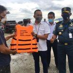 Ratusan Nelayan Pesawaran Dapat Pas Kecil Gratis dari KSOP Panjang