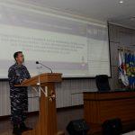 Seskoal Video Confrence Dengan Gubernur Kalbar