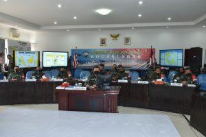 Pangkogaslagab, paparkan Konsep Umum Operasi secara virtual di depan Pangkogab TNI.