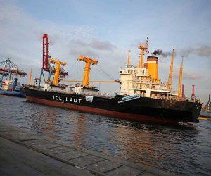 Ilustrasi kapal tol laut. (Sumber: LIPI)