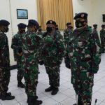 Dansatban Koarmada II Pimpin Sertijab Komandan KRI Arung Samudera