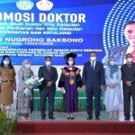 Pung Nugroho Saksono Raih Gelar Doktor di Unsrat