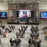 Pemaparan Laksamana TNI (Purn) Prof Dr Marsetio di Seminar Internasional Seskoal Tahun 2020