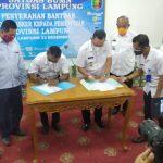 Satgas BUMN Lampung Serahkan Bantuan 60.000 Masker