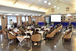 Pangkoarmada II Terima CC Deputi Bidang Koordinasi Sumber Daya Maritim.