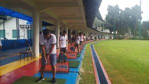 Untuk menjaga kesehatan jasmani, pasis Dikreg Seskoal rutin menjalankan olahraga.