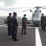 Danguspurla Koarmada II Pimpin Langsung Satuan Tugas Laut Operasi Gabungan TNI