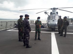 Danguspurla Koarmada II pimpin langsung Satgasla Operasi Gabungan TNI.