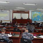 Pelajari Sejarah Amfibi Dunia, Pasis Dikreg Seskoal Angkatan ke-59 Gelar Diskusi Antar Kelompok