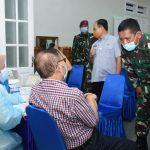 Hari Kedua, 420 Purnawirawan TNI AL Laksanakan Vaksinasi Covid-19