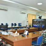 Dirbin Seskoal Ikuti Rakorlog TNI AL 2021