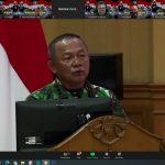 Guna Membagun Penerangan TNI yang Informatif dan Komunikatif, Kabagpen AAL Ikuti Rakornispen TNI 2021  Virtual
