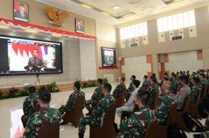 Pembekalan peserta PKB Kejuangan 2021 oleh Presiden Joko Widodo