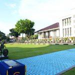 Danseskoal Resmikan Renovasi Tiang Bendera