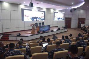 Penyampaian Executive Summary  FS dan KKDN Pasis Dikreg 59 Seskoal wilayah Banten dan Bangka Belitung.