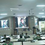 Seskoal Bawa Pasis Dikreg 59 Kuliah Kerja Manajemen ke Babek TNI