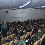 Sesjen Watannas Beri Kuliah Pasis Dikreg Seskoal Tentang Strategi Pertahanan Maritim
