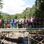 Dukung Kelancaran Ekonomi, TNI AL Bangun Jembatan di Bali